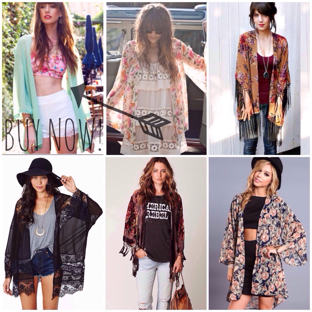 How to Wear a Sheer Kimono – A blog from the mind behind ...